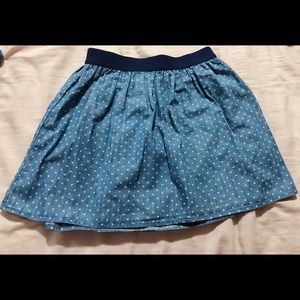 (Old Navy) Blue Skirt